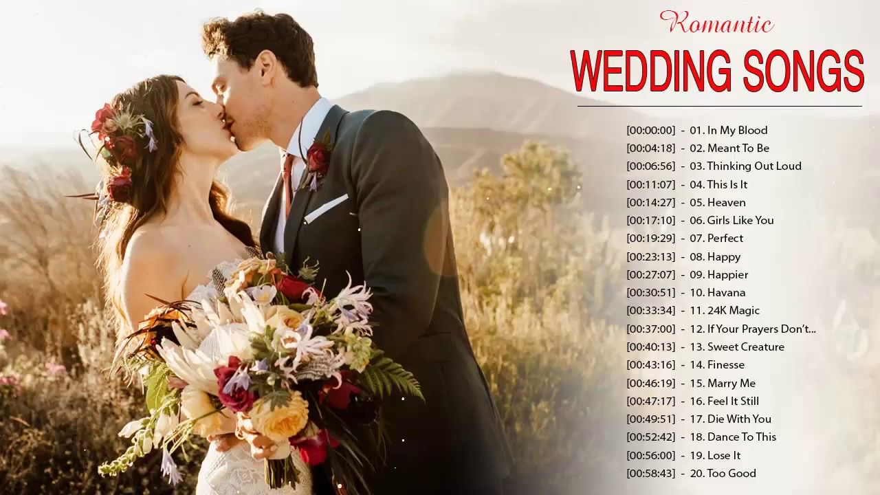 Top 30 Wedding Songs For Your Wedding Wedding Photography Videography In Singapore